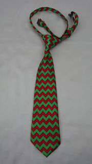 Red & Green Chevron