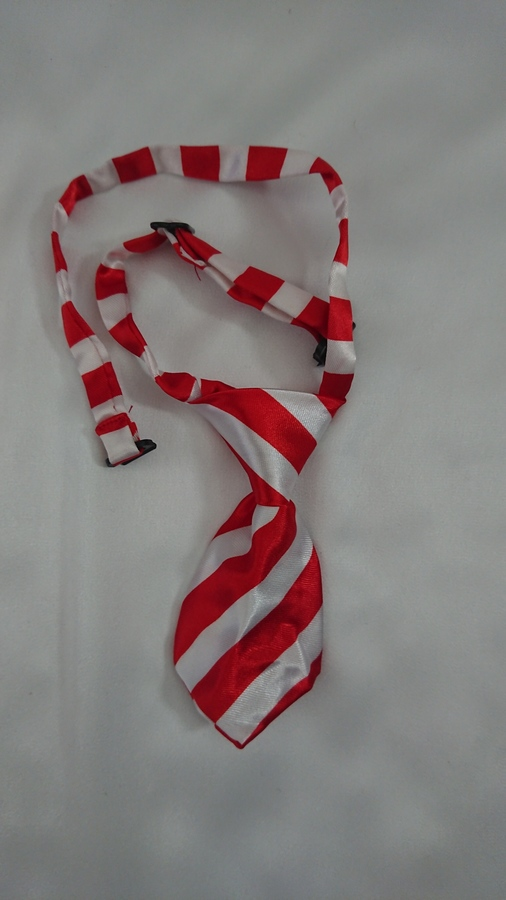 Wide Red & White Stripe